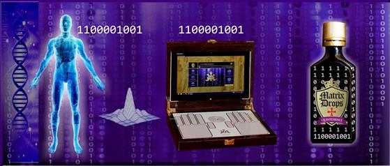 Matrix Drops Computer